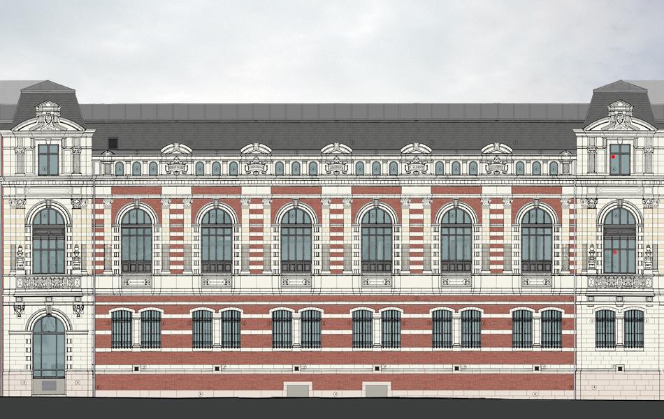 facade dessin ciel